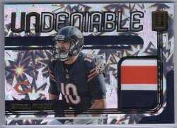 2019 Panini Unparalleled Mitchell Trubisky Undeniable Impact