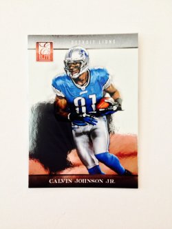 2012 Panini Elite Calvin Johnson, Jr.