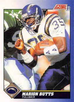 1991  Score Marion Butts