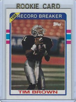 1989 Topps  Tim Brown