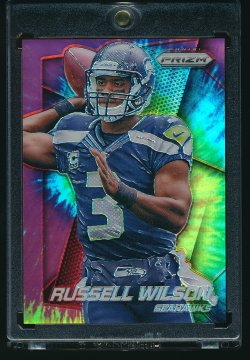 2014 Panini Prizm Tie-Dyed Russell Wilson