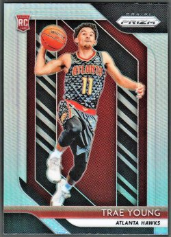 2018-19   Trae Young Prizm Silver Refractor RC