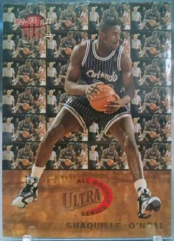 1992-93 Fleer Ultra Shaquille ONeal all rookie