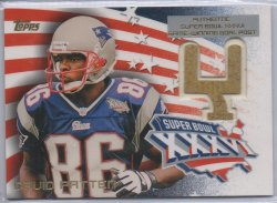 2002 Topps Super Bowl XXXVI Goal Posts David Patten