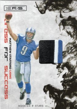 2009 Panini Rookies and Stars Dress for Success Matthew Stafford