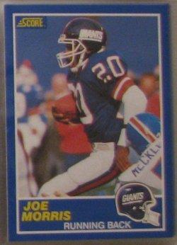 1989 Score  #14 - Joe Morris