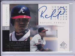Rafael Furcal 2000 SP Authentic Chirography AUTO