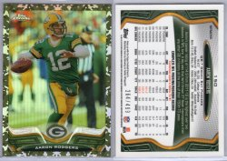 2013 Topps Topps Chrome Aaron Rodgers