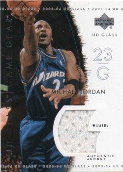 2003-04 Upper Deck UD Glass Jordan, Michael - Game Gear