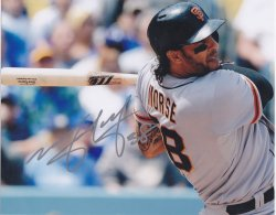 Mike Morse Signed IP 8x10 Photo