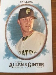 2017 Topps Allen and Ginter Jameson Taillon