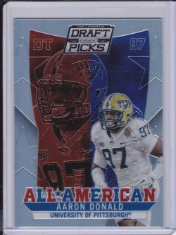 Aaron Donald 2015 Panini Prizm Draft Picks All Americans