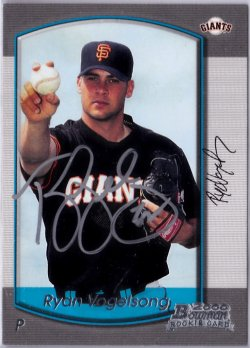 2000 Bowman  Ryan Vogelsong RC IP Auto