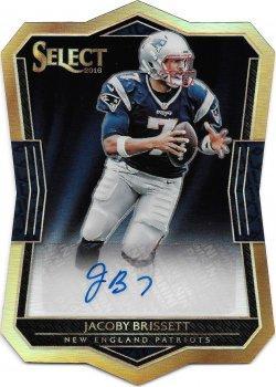 2016 Panini Select Rookie Die Cut Autographs Jacoby Brissett