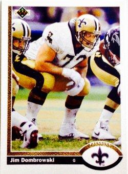 1991 Upper Deck  Jim Dombrowski