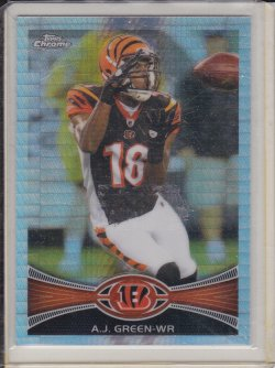 A.J. Green 2012 Topps Chrome Prism Refractor /216