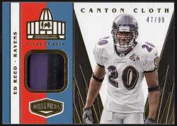2020 Panini Plates & Patches Canton Cloth Ed Reed