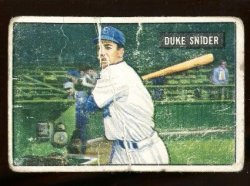 1951 Bowman  Duke Snider