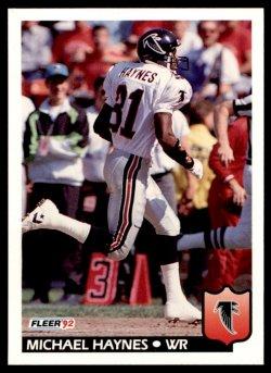 1992  Fleer Michael Haynes
