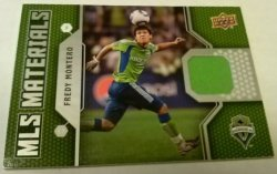 2011 Upper Deck MLS Materials Freddy Montero