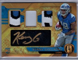 2017 Playoff Gold Standard Kenny Golladay