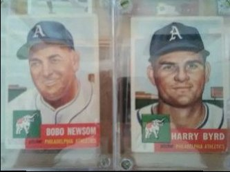 1953 Topps  Bobo Newsom Harry Byrd