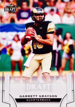 2015 Leaf Draft  Garrett Grayson