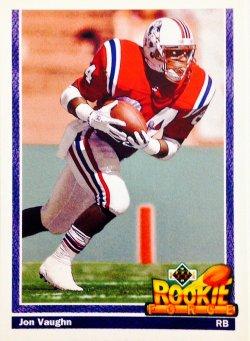 1991 Upper Deck Rookie Force Jon Vaughn