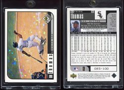 1999  UD Choice Prime Reserve Frank Thomas