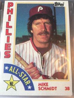 1984 Topps  Mike Schmidt - All Star